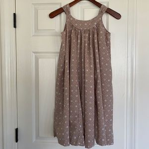 Bonpoint cotton maxi hanger dress girl sz12